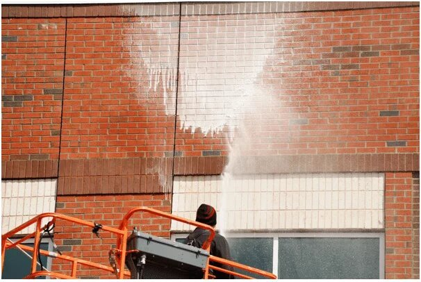 Commercial Building Exterior Cleaning Canberra