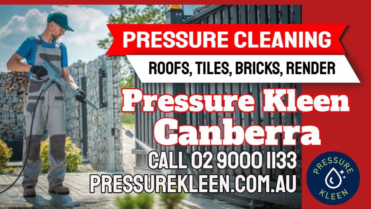 Concrete Cleaning Canberra