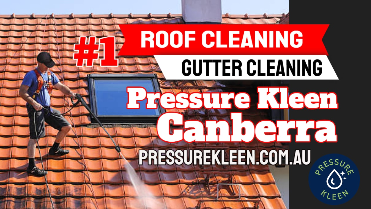 Roof Cleaning in Canberra